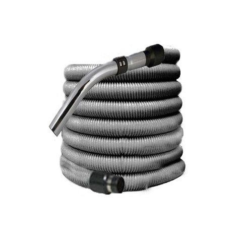 Flexible aspiration centralisée standard gris de 15 mètres
