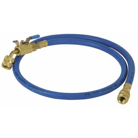 Flexible bleu longueur 0,90m Ø1/4