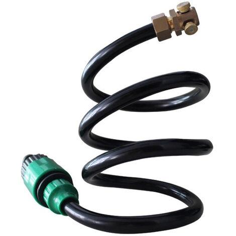 Flexible Brumisation Support Portale Exterieur De Refroidissement Mist Systeme Avec 2 Laiton Pour Le Refroidissement Mist Nozzles, 6.56Ft