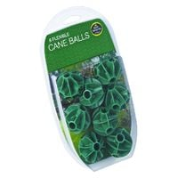 Flexible Cane Balls - For Garden Fruit Cages and Netting Frames - Pack Of 8