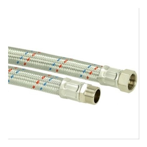 Flexible chauffage droit MF1'' inox Diam25mm L=500mm