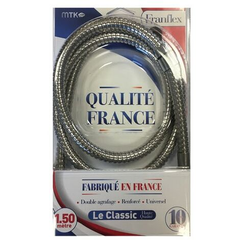 FLEXIBLE DCHE 1.75M ACIER CHROME