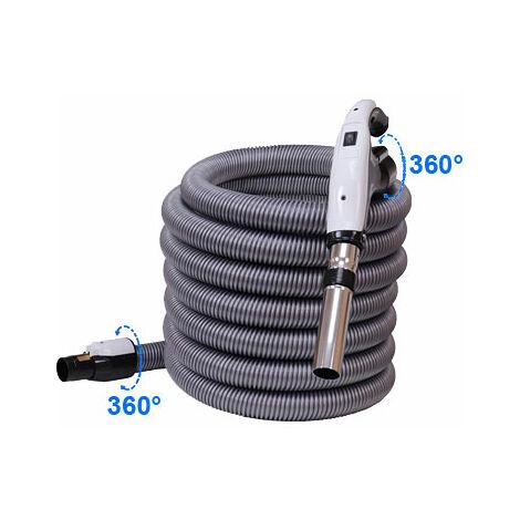 Flexible de 9 m avec bouton marche/arrêt et nouveau terminal rotatif 360° à chaque extrémité
