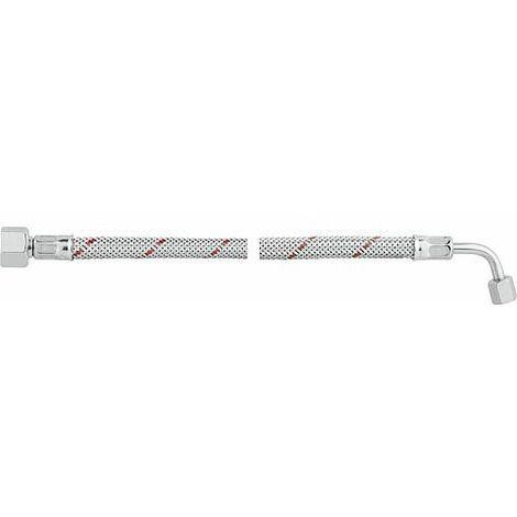 """Flexible de bruleur fioul avec ecrou-raccord 3/8"""" et coude SR 6 LL R 750 mm, Weishaupt WL 10/WL 20"""