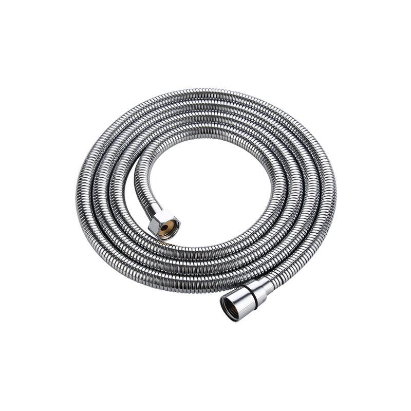 Barre de douche en acier inoxydable avec pulv/érisateur et flexible