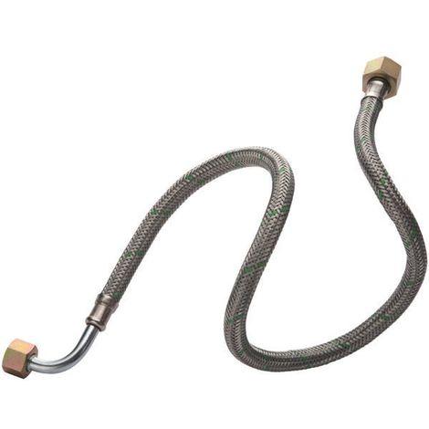 Flexible fioul ALTECH coudé Femelle-Femelle 12x17 L1000 par 2