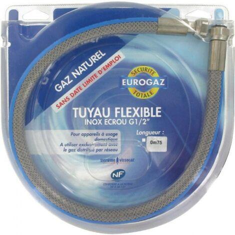 Flexible gaz durée de vie illimitée - 200 cm - Eurogaz