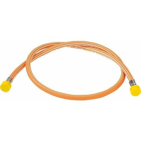 flexible gaz Elastomer butane-propane 1,5m à remplacer tous les 10 ans