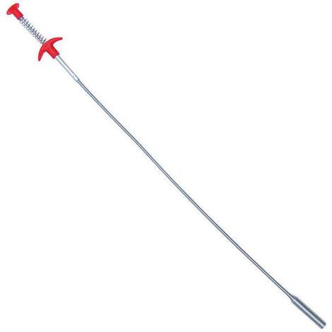 Flexible Grabber garra herramienta Seleccion Reacher con 4 garras puede doblar el tubo flexible de alcanzar Assist Herramienta para la recogida de la litera, Inicio fregadero, 35.4inch