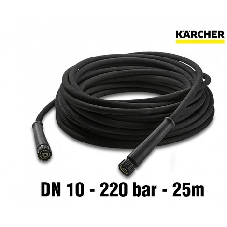 Flexible Haute Pression 25m Dn10 Rallonge Non Rotatif Karcher