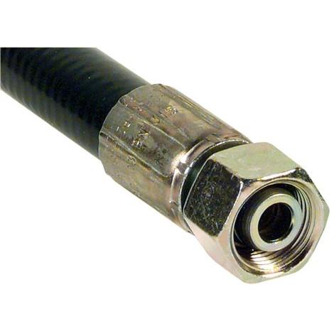 Flexible hydraulique a haute pression Type 2 SN 16, 18 L, Longueur 500 mm