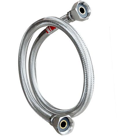 """Flexible inox Ø11 int. F/F 1/2"""" - 15/21 - Lg 80cm"""