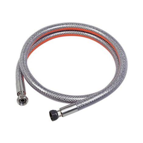 Flexible inox butane-propane sans date limite de validite - longueur 1m NOYON & THIEBAULT
