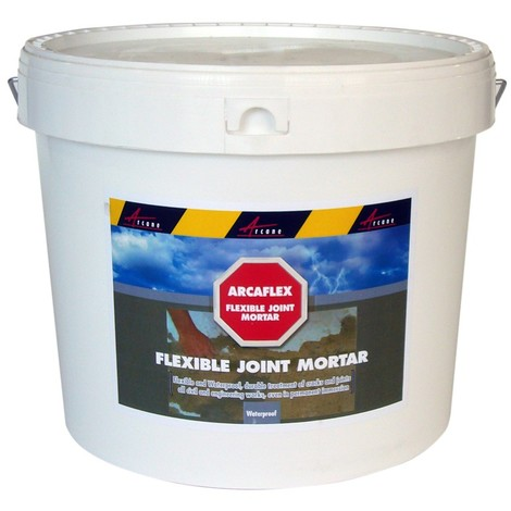 ARCAFLEX - Flexible joint mortar large joints tiling repair crack in cement steel pvc substrates swimming pool | Dark Green - 2 kg