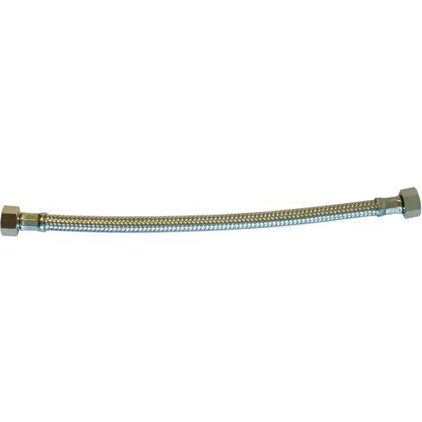 Lg 50cm Flexible inox /Ø9 int F//F 3//8-12//17