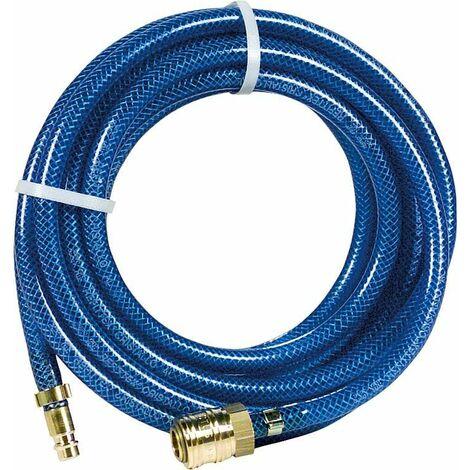Flexible pneumatique avec raccords (Accouplement et douille a enficher) L 5 m/6x10mm/20 bar