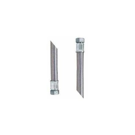 Flexible pression sanitaire, chauffage gros débit 30cm D.20 20x27 FF