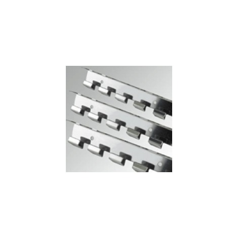 Flexible PVC - Stainless Steel Rail 984mm
