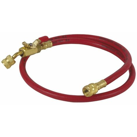 Flexible rouge longueur 0,90m Ø1/4