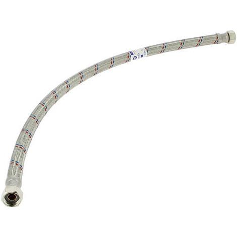 Flexible sanitaire tresse inox DN 13 ff 15-21 70cm