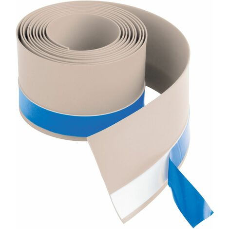 Flexible Seal Strip For Shower Tray Bath Waterproof Tiling Upstand 2.8 Metres