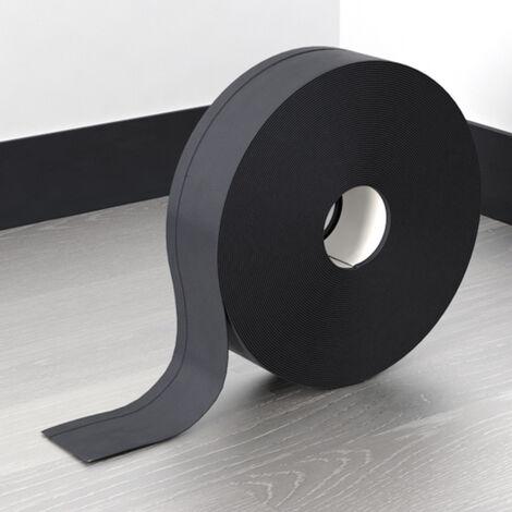 "main image of ""Flexible Skirting Board PVC Strip Self-Adhesive Floor Wall Joint Cove"""