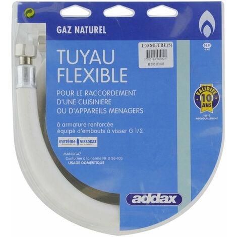 Flexible Souple Gaz Naturel 1m - ADDAX