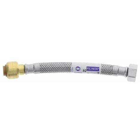 Flexible tectite DN8 PF10 F12x17 L150mm inox