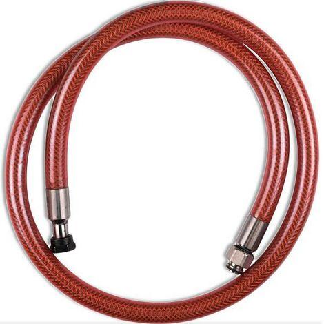 Flexible VISSINOX gaz butane propane long. 1m durée de vie illimitée (97543-36767) (481281729753) Four, cuisinière 97543_3662734900406 WPRO