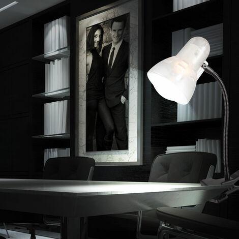 Flexibler LED Klemmstrahler mit beweglichem Spot