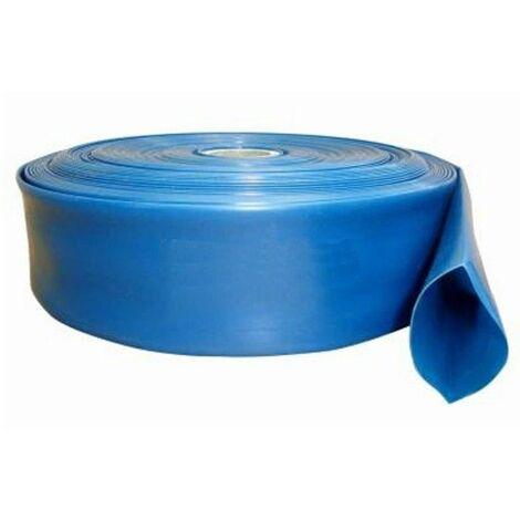 Flexibler PVC Wasser Flachschlauch 1 Zoll bis 2 Zoll 10-50m Gartenschlauch UVP