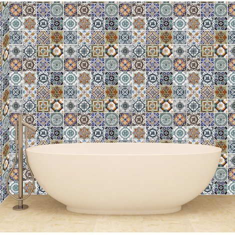 Flexiplus Mediterranean Tiles 4 sheets covering 1.16m2