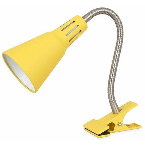 Flexo avec pince Nuka E14 Yellow GSC 204200003