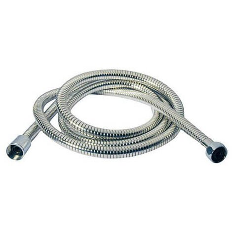 Flexo de ducha extensible 1,75 - 2,20 m. (Mirtak 55163) (Bolsa)