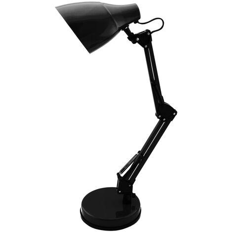 Flexo de mesa modelo tradicional 20W E27 color negro (GSC 1801665)
