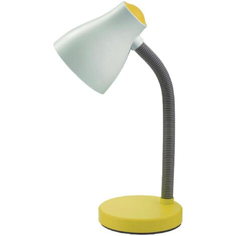 Flexo de sobremesa amarillo E27 (F-Bright 1900011-AM)
