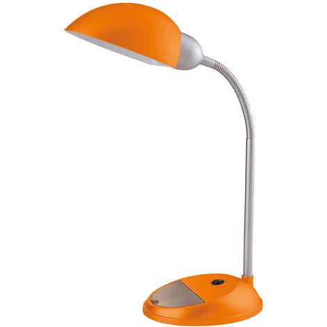 Flexo de sobremesa Cover naranja E27 (Ledesma 21246)