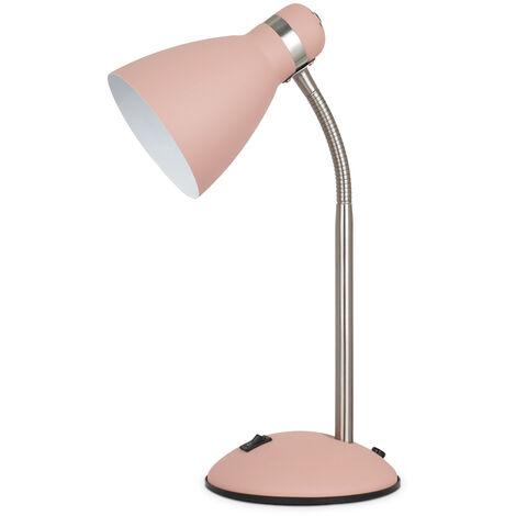 Flexo de sobremesa modelo Nuba E27 rosa mate (GSC 204200021)