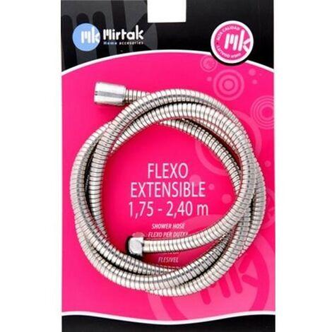FLEXO DUCHA INOX. EXTENSIBLE T C 1,75-2,20 (BL) B55163