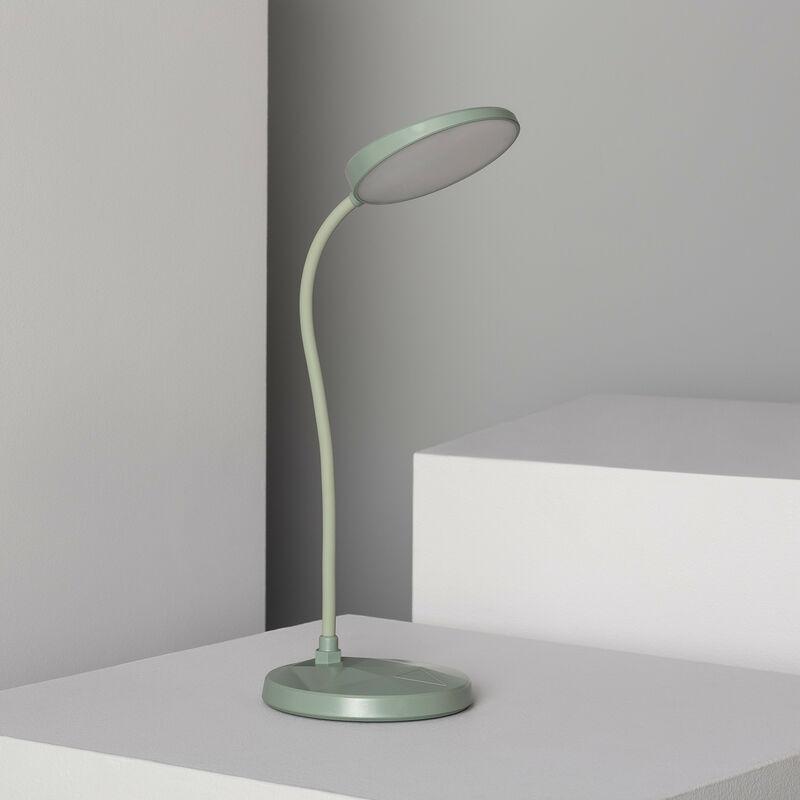 Ledkia - Flexo LED Evania 3W con Batteria Verde