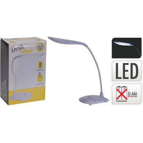 Flexo luz 18 led pilas 42x13x10cm.