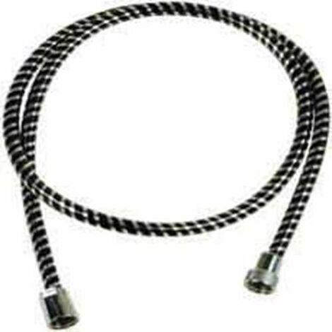 FLEXO PVC STANDARD NEGRO/PLATA 1,5 M. (BL.) B55301