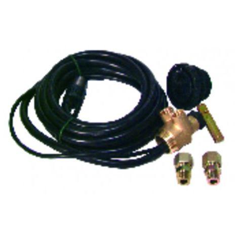 Flexodiff suction hose agile 2,20m for tank