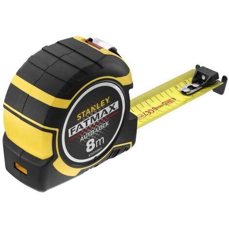 STANLEY XTHT0-33501 - Flexometro AutoLock 8m x 32mm com gancho XL y gancho magnetico