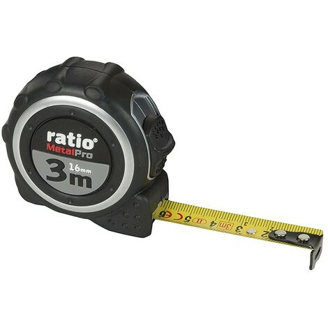 Flexómetro serie metalpro ratio - varias tallas disponibles