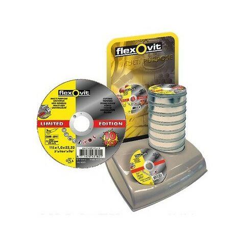Flexovit 66252926779 Multi Purpose Cutting Disc 230 x 22.23mm