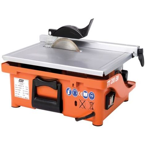 Flexovit Powered Tile Saw 220 volt 200mm