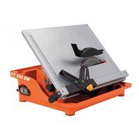 Flexovit TT200EM 200mm Water Powered Tile Saw 800 Watt 240 Volt
