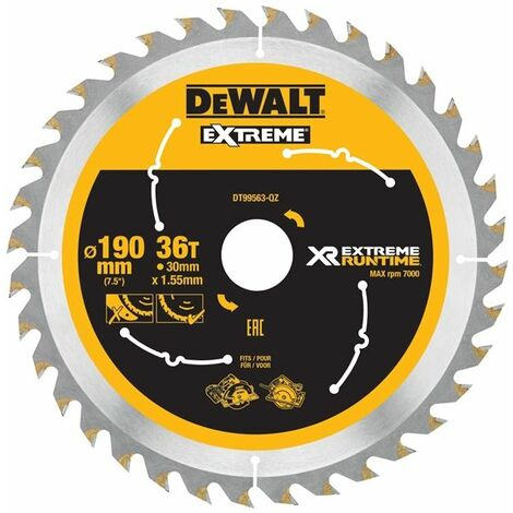 FlexVolt XR Circular Saw Blades 190mm