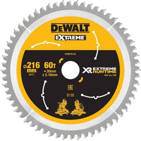 FlexVolt XR Circular Saw Blades, 216mm